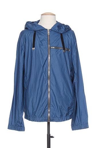 balenciaga manteaux homme de couleur bleu