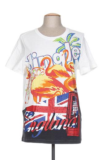 T-shirt manches courtes blanc PHILLIP LIM pour homme