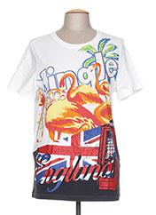 T-shirt manches courtes blanc PHILLIP LIM pour homme seconde vue