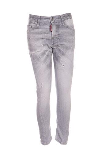 dsquared jeans garçon de couleur gris
