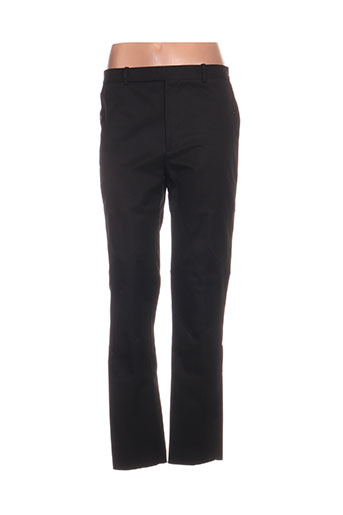 balenciaga pantalons femme de couleur noir