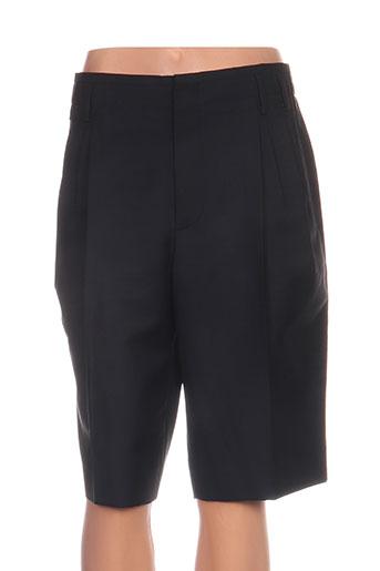balenciaga shorts / bermudas femme de couleur noir