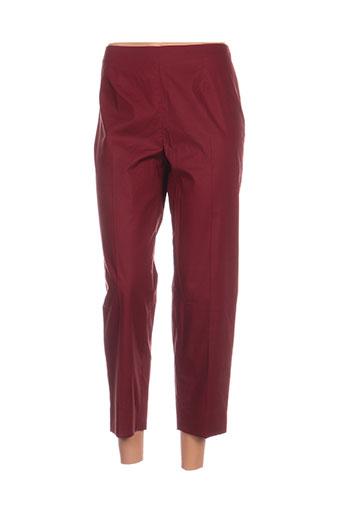 Pantalon 7/8 rouge PAULE KA pour femme