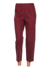 Pantalon 7/8 rouge PAULE KA pour femme seconde vue