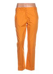 Pantalon casual orange PAULE KA pour femme seconde vue