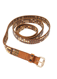 Ceinture marron HOLLYWOOD TRADING COMPANY pour femme