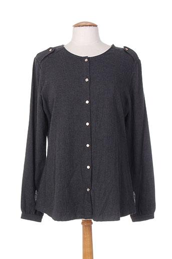 drolatic chemises femme de couleur gris