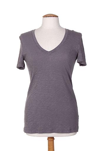 bobi t-shirts femme de couleur gris