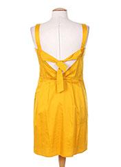 Robe mi-longue jaune TARA JARMON pour femme seconde vue