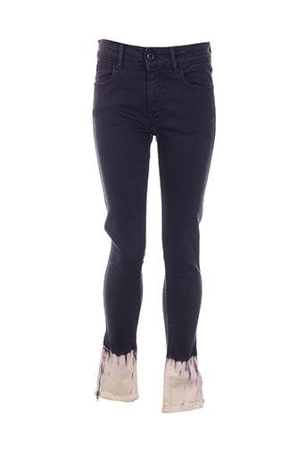 april 77 jeans femme de couleur violet
