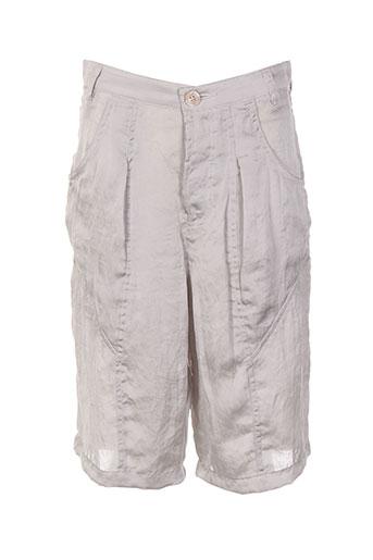 diesel shorts / bermudas femme de couleur gris