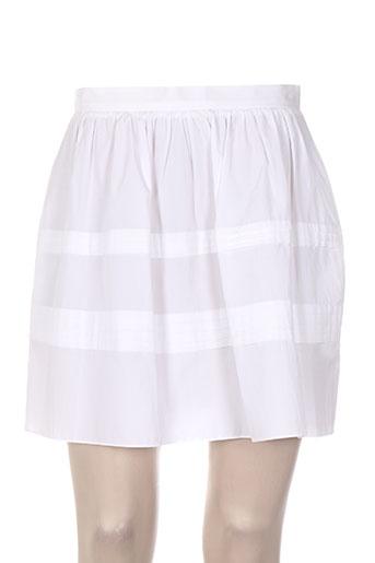 Jupe courte blanc TARA JARMON pour femme