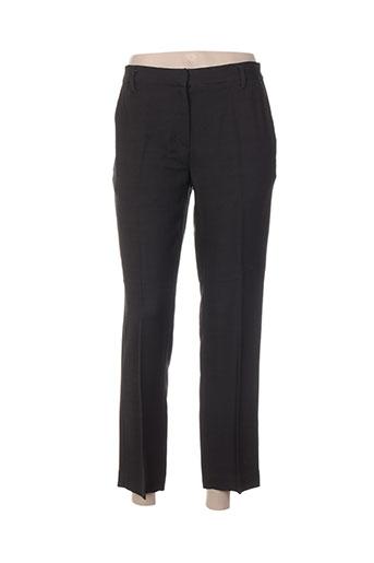 Pantalon 7/8 marron FORTE-FORTE pour femme