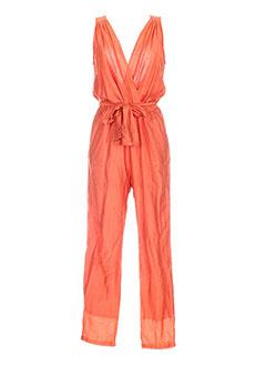 Femme Modz Orange En Combinaisons Soldes Couleur Cher Pas De TlJ53FK1uc