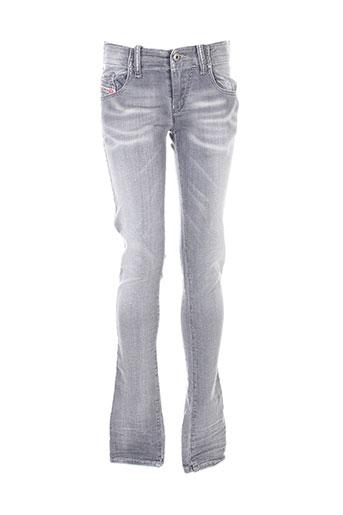 diesel jeans femme de couleur gris