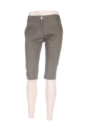 madame a paris shorts / bermudas femme de couleur vert