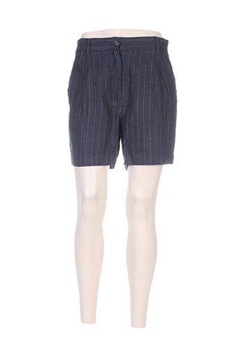 Short bleu FORTE-FORTE pour femme