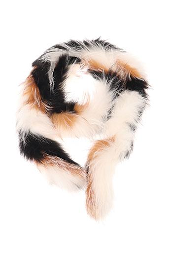 pinko accessoires femme de couleur blanc