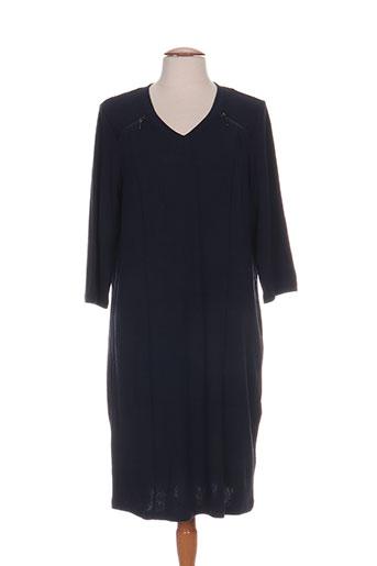 ciso robes femme de couleur bleu
