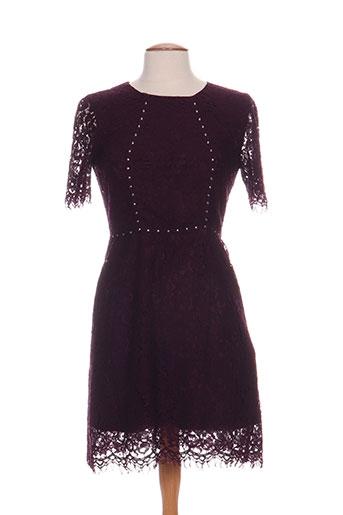 morgan robes femme de couleur violet