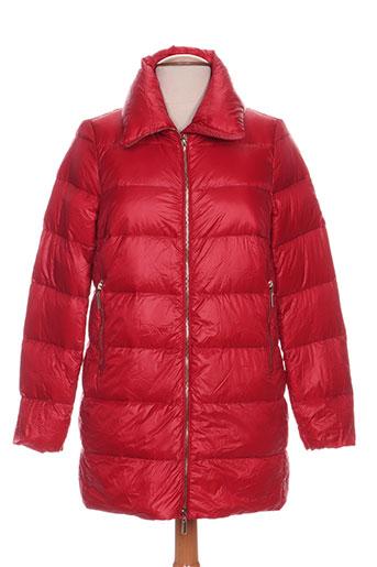 freda manteaux femme de couleur rouge