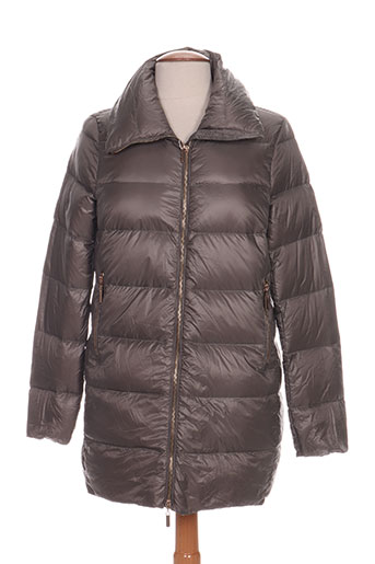 freda manteaux femme de couleur gris