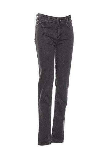 pm loving jeans fille de couleur gris