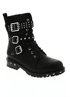 Bottines/Boots noir ERYNN pour femme