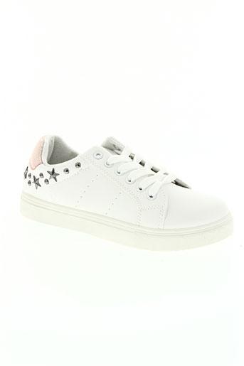 hemji chaussures femme de couleur blanc