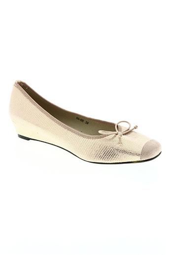 hemji chaussures femme de couleur beige