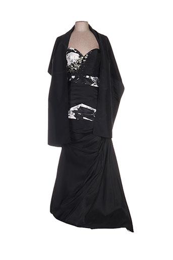 ellebeline robes femme de couleur noir