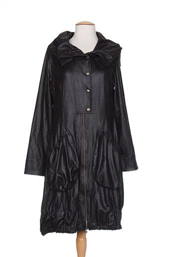 bohéme manteaux femme de couleur noir
