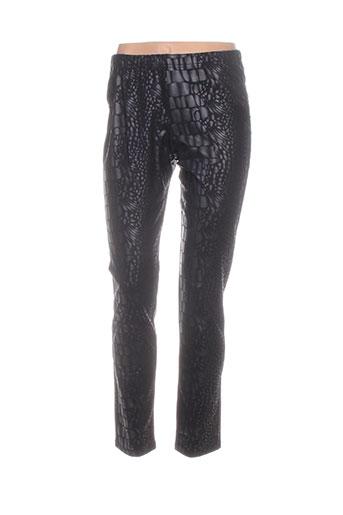 bohéme pantalons femme de couleur noir