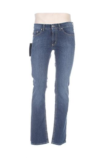 pionier jeans homme de couleur bleu