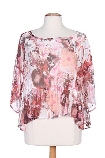 g!oze chemises femme de couleur rose