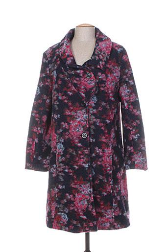 g!oze manteaux femme de couleur rose