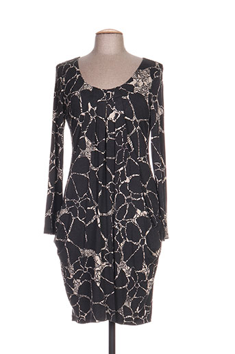 eroke robes femme de couleur gris