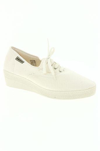 pare gabia chaussures femme de couleur blanc