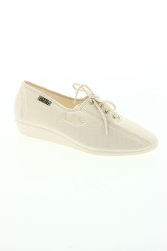 goes chaussures femme de couleur blanc