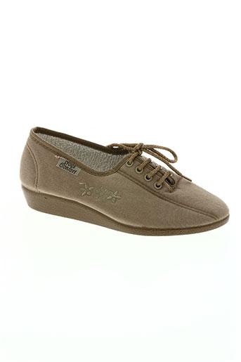 goes chaussures femme de couleur beige