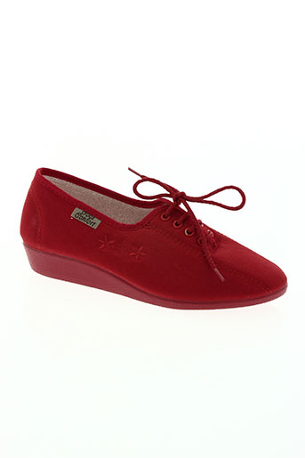 goes chaussures femme de couleur rouge