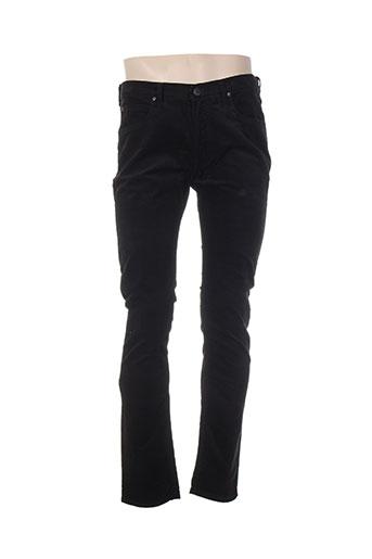 lee pantalons homme de couleur noir