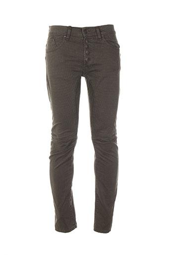 imperial pantalons homme de couleur vert