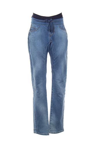pull in pantalons homme de couleur bleu