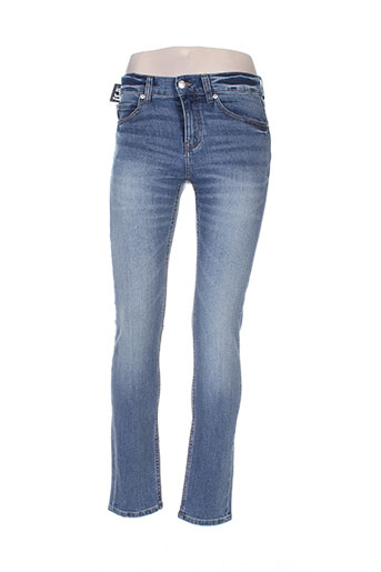 cheap monday jeans femme de couleur bleu