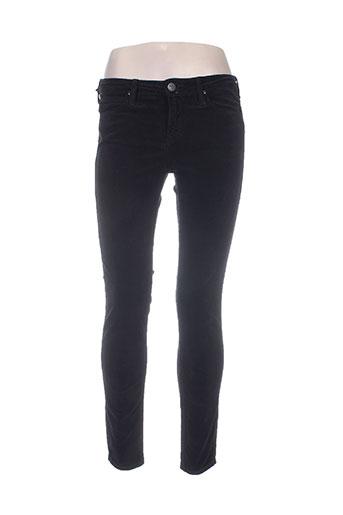 lee pantalons femme de couleur noir