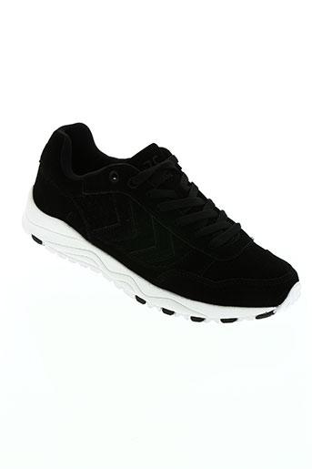 hummel chaussures garçon de couleur noir
