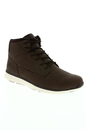 fila chaussures homme de couleur marron