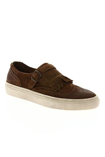 freeman t.porter chaussures garçon de couleur marron