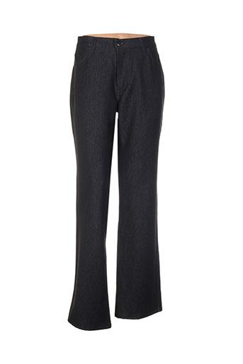 cinoche pantalons femme de couleur noir